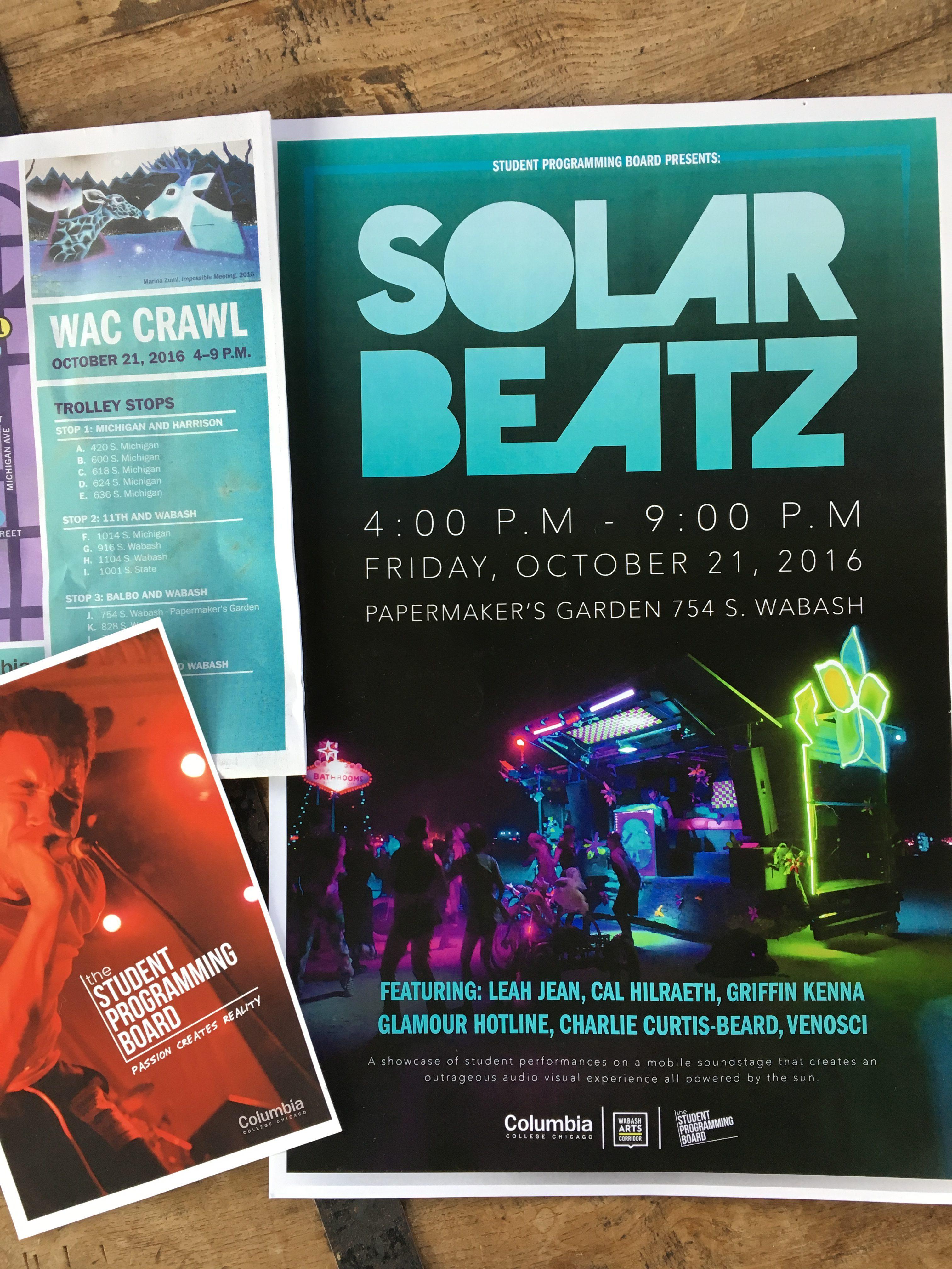 Events with SolarBeatz